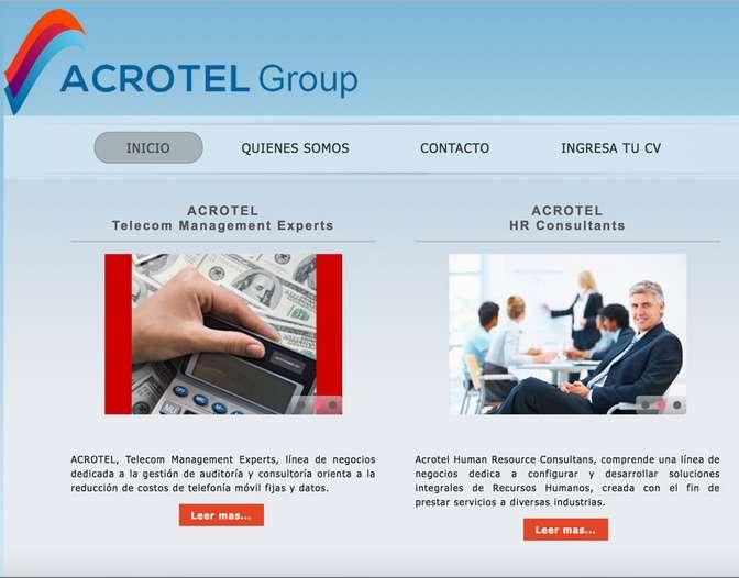acrotel.cl D4 soluciones