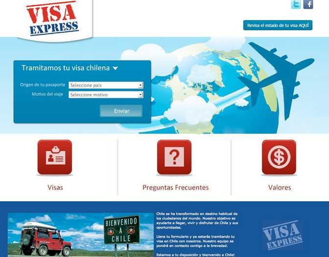 visaexpress.cl D4soluciones